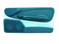 P.M. Modifiche POKET Doorboards FIAT 600 ab 1999 (2x165 mm)