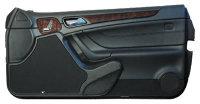P.M. Modifiche POKET Doorboards Mercedes CLK (2x165 mm + MT)