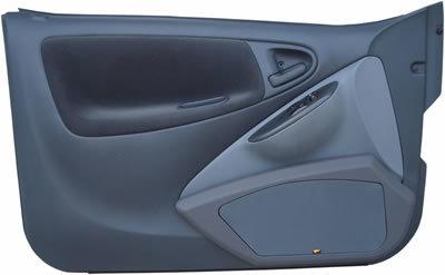 P.M. Modifiche POKET Doorboards Toyota Yaris 3/5-Türer ab dem 04.2006 (2 x 165 mm)