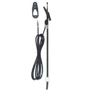 Holmeinschubantenne mit 210cm Kabel