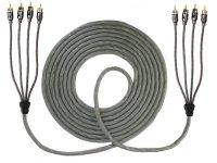 AIV Connect SILVERADO 4-Kanal Cinch-Kabel, 5,5 m -...