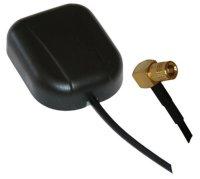 Ampire ANT-LOC100 GPS-Antenne SMA, 2.5m Kabel für...