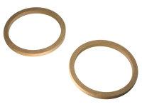 MDF Adapterringe für 16,5 cm Lautsprecher, 12 mm...