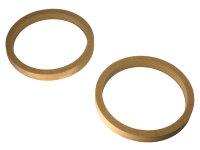 MDF Adapterringe für 16,5 cm Lautsprecher, 18 mm...