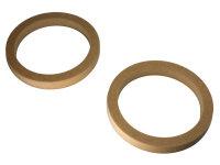 MDF Adapterringe für 16,5 cm Lautsprecher, 22 mm...