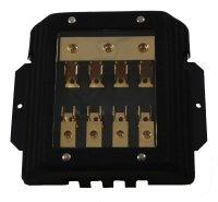 BASIC 10121 4-fach AGU Sicherungsverteiler, STONE DESIGN