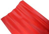 AIV Kunst-Leder, Carbon Look, rot, Premium Qualität