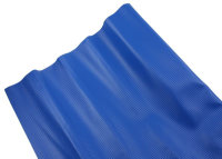 AIV Kunst-Leder, Carbon Look, blau, Premium Qualität