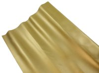 AIV Kunst-Leder, Carbon Look, gold, Premium Qualität