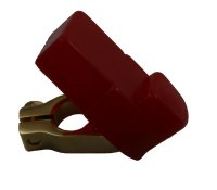 BASIC 10051 Batterieklemme und Silikonhülle rot