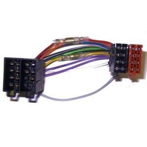 ISO-Radio auf ISO-Fahrzeug Klemme15/30 drehbar Spannung + 4 Lautsprecher