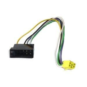 ISO-Stecker 10 pol. auf Mini-ISO-Buchse 6 pol.