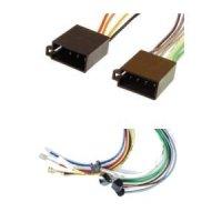 DIN-Radio auf Fahrzeug ISO Spannung + 4 Lautsprecher...