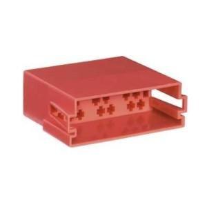 Mini-ISO-Steckergehäuse 20-polig 10er