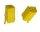 Mini-ISO-Buchsengehäuse 10er Beutel gelb 6-pol.