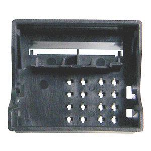 Quad-Lock Buchse, 16 polig, female, Farbe schwarz