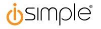 iSimple ISMJ73BK 3,5 mm AUX Kabel, schwarz