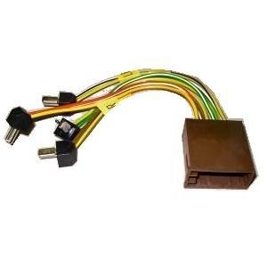DIN-Radio auf Fahrzeug ISO 4 Lautsprecher