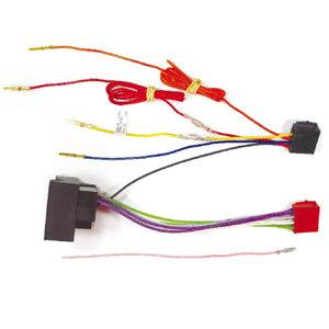 Radio-Adapterkabel MOST Universal auf ISO, steckbare Stromversorgung, z.B. BMW ab 01, Ford ab 04, Opel ab 04, VW ab 03