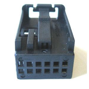 Quad-Lock Codierung, 12 polig, passend für Stecker 72017 , Farbe schwarz