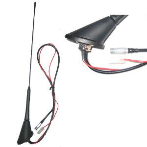 Autodachantenne 16V-Design m. Verstärker mit Anschluß-Kabel OEM-Qualität