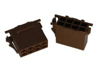 ISO-Lautsprecher Buchsengehäuse 8-polig br. 10er Pack