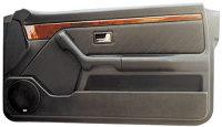 P.M. Modifiche POKET Doorboards Audi 80 Coupé (1x165 mm)