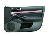 P.M. Modifiche POKET Doorboards Audi A4 (1x165 mm)