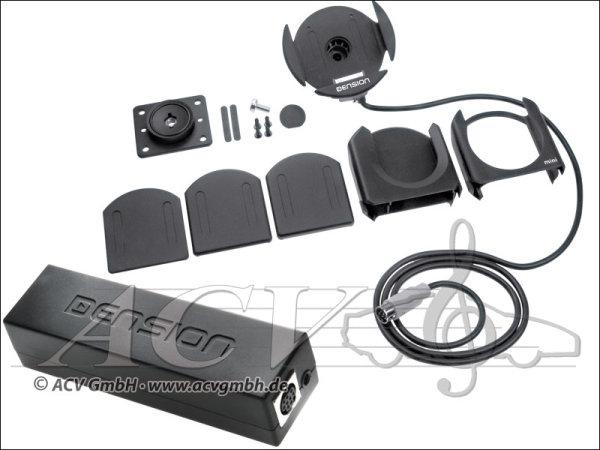 Dension Gateway 100 + Active Cradle Audi