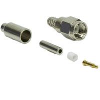 SMA Stecker (M), Crimp Version für RG174-Kabel