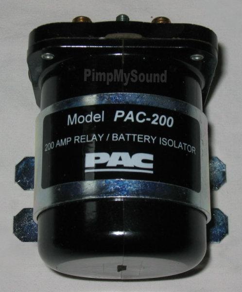 PAC-200 Batterie-Trennrelais