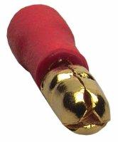 Sinus Live Rundstecker, rot, für Kabel 0,75 - 1,5 mm²