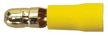 Sinus Live Rundstecker, gelb, für Kabel 4 - 6 mm²
