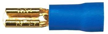 Sinus Live Flachstecker 2,8 mm, blau, für Kabel 2,5 - 4 mm²