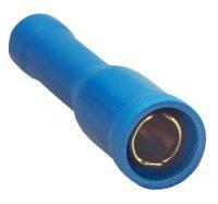 Sinus Live Rundsteckhülse, blau, für Kabel 2,5 - 4 mm²