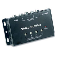 Aktiver Video Splitter 1 auf 4 Monitore