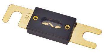 ANL Sicherung, 200 A, vergoldet