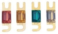Mini-ANL Sicherung, 30 A, vergoldet